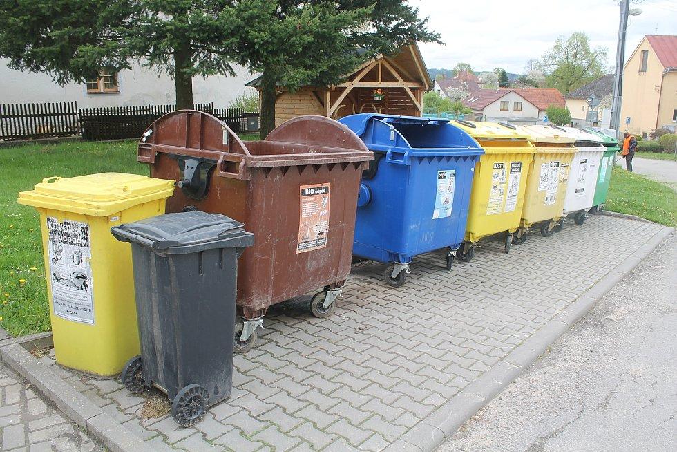 V Cejli třídit odpad umí, svědčí o tom první místo mezi malými obcemi v soutěži My třídíme nejlépe.