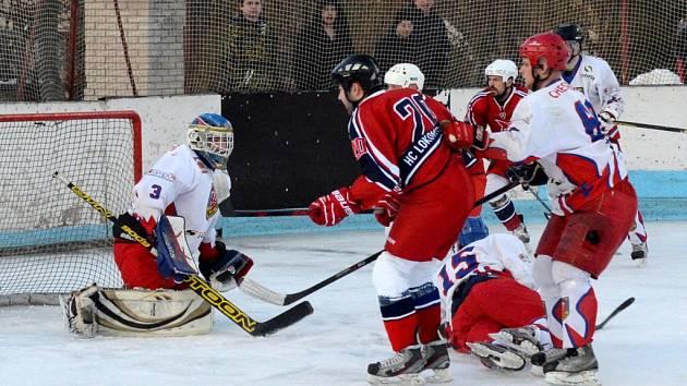 Jasná výhra. Hokejisté Telče si připsali další tři body. Tentokrát za jednoznačné vítězství 9:1 nad Velkým Meziříčím B.