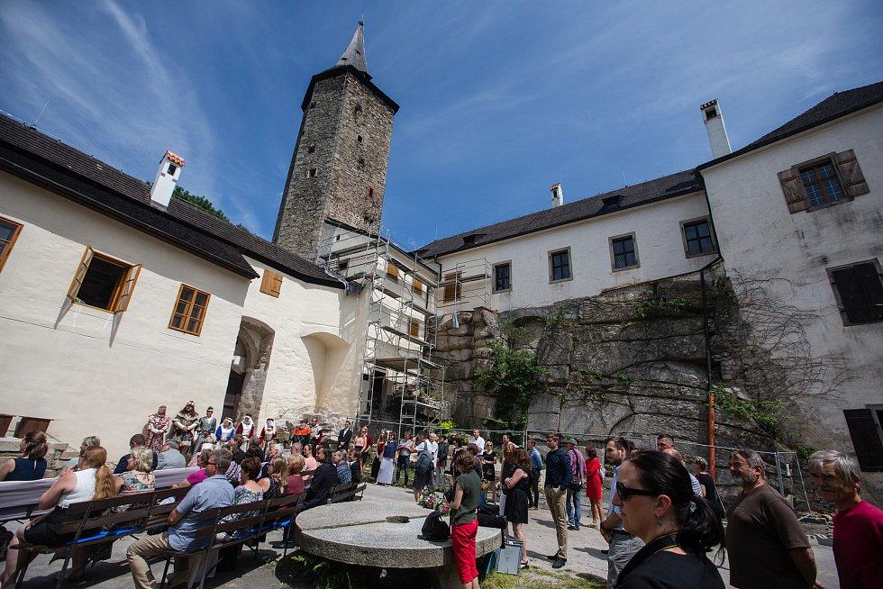 Nová prohlídková trasa na hradě Roštejn.