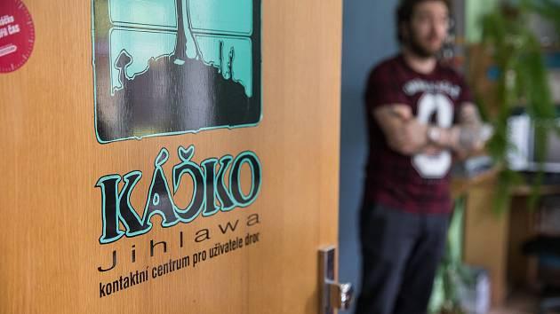 Káčko - kontaktní centrum pro uživatele drog v Jihlavě.