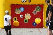 Krajské finále McDonald's Cupu v Jihlavě.