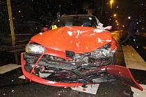 Skoro čtyři promile alkoholu nadýchala řidička, která ve čtvrtek v Jihlavě srazila na přechodu pro chodce šestnáctiletou dívku.