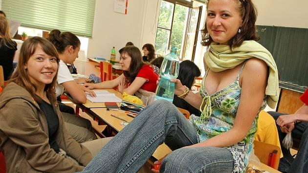 Studenti. Ilustrační foto