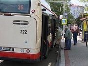 Autobus MHD v Jihlavě