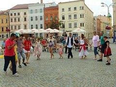 Multikulturní festival v Jihlavě v roce 2017.