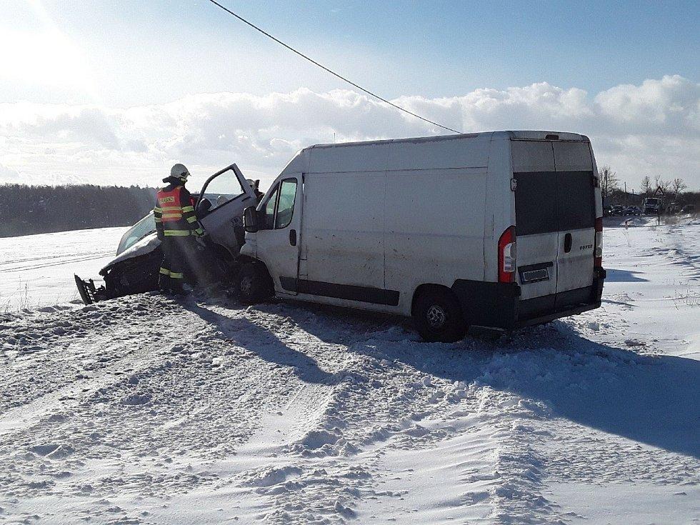 Středeční nehoda u Jinošova.