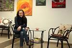 Fotografka Lea Nerudová ve svém království.