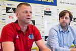Tisková konference FC Vysočina Jihlava.