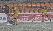 Utkání 21. kola první fotbalové ligy: FC Vysočina Jihlava - FK Jablonec, 17. března v Jihlavě.