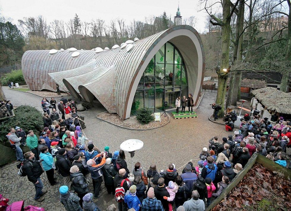 Nový tropický pavilon v jihlavské zoo.