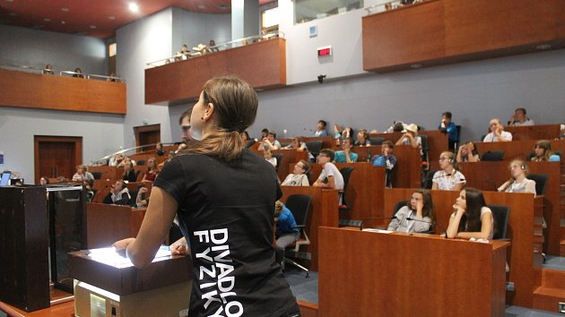 Účastníci Mladé univerzity Waldviertel-Vysočina