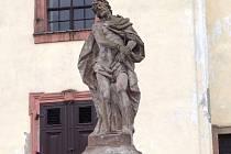 Suchardův Kristus v Nové Pace.