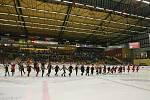 Zápas 27.kola hokejové extraligy mezi HC Dukla Jihlava a BK Mladá Boleslav.