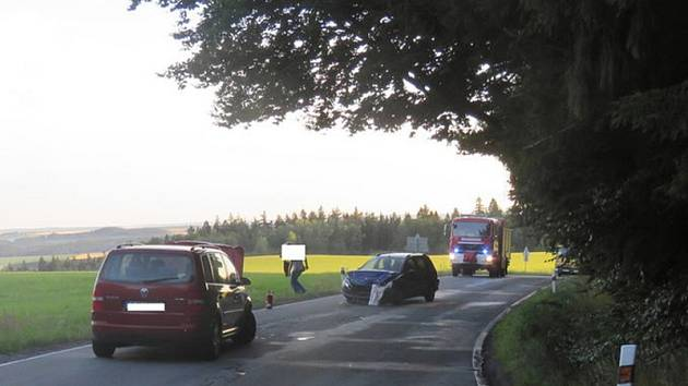 Ve Stáji na Jihlavsku došlo včera k vážné dopravní nehodě.
