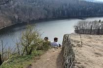 Výlet na zříceninu hrad Oheb a vodní přehradu Seč.