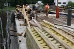 Práce na opravě mostu U Jána vrcholí.