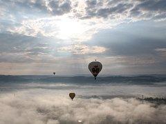 Balóny nad Telčí.
