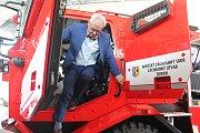 Nové vozy jsou prototypy, které by prý mohly jihlavským hasičům okolní státy závidět.