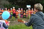 Do happeningu se zapojili také školáci z jedné jihlavské mateřské školy.
