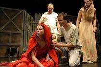V roli archeologa Hannua diváci uvidí Petra Soumara a jeho ženu Gretu ztvární Lenka Schreiberová.  V roli tajemné dívky Birgit se představí Tereza Otavová (v popředí).