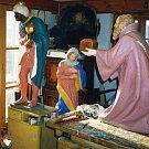 Betlém pro strahovský klášter, jehož autorem je Jan Florian.