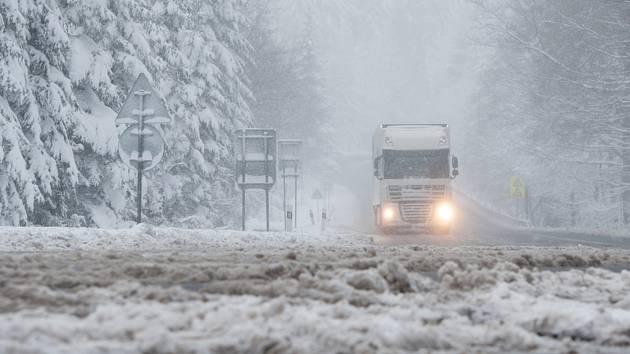 Zima, ilustrační foto