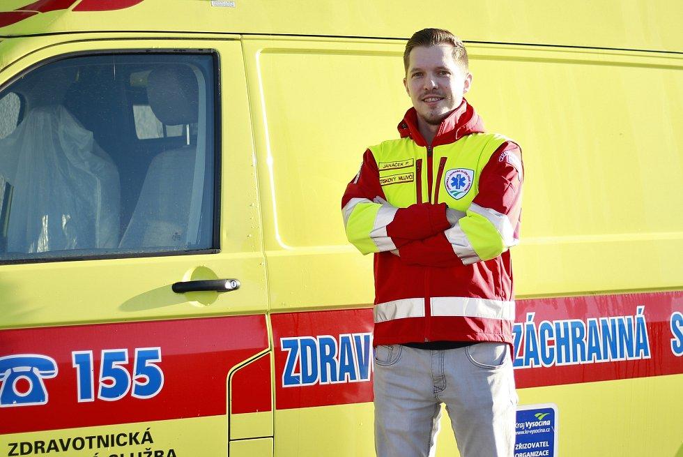 Mluvčí Zdravotnické záchranné služba Kraje Vysočina Petr Janáček.