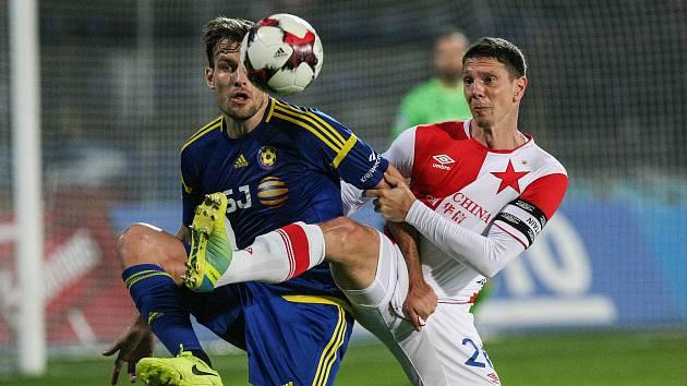 FC Vysočina Jihlava - SK Slavia Praha, ilustrační foto.