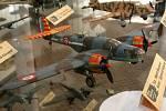 Výstava modelů letadel v jihlavském Muzeu Vysočiny.