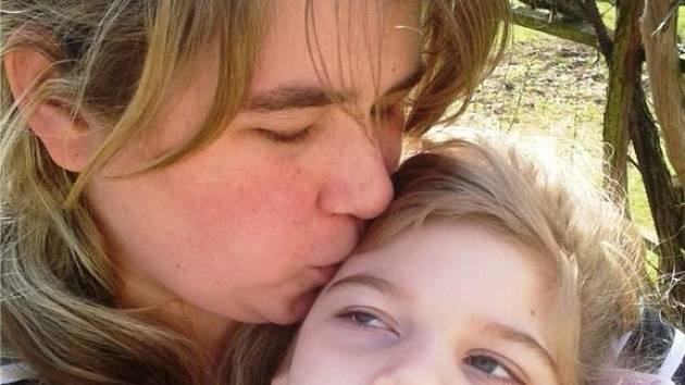 Hana Bublová se svou dcerkou Haničkou.