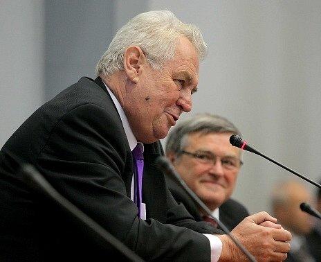 Prezident Miloš Zeman na Vysočině.