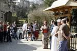 Slavnostní otevření nového výběhu v zoo doprovázel bohatý program