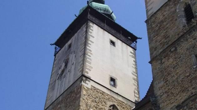 Chrám sv. Jakuba v Jihlavě.