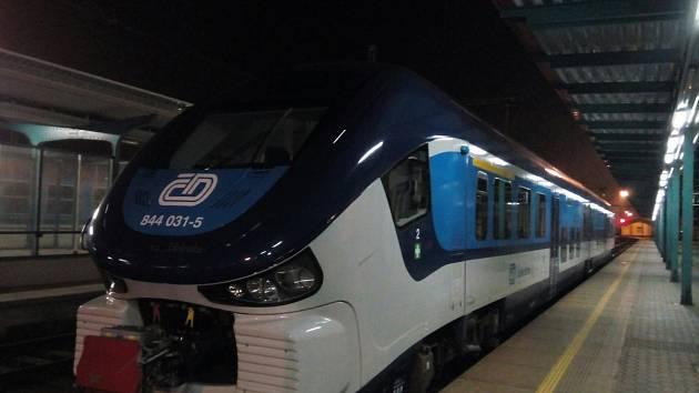 Vozy RegioShark zatím na Vysočině nejezdí.