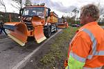 Opravy a údržba silnic, ilustrační foto