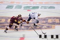 Utkání 15. kola hokejové Chance ligy mezi HC Dukla Jihlava a SC Kolín vyhrál domácí celek 6:0.