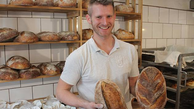 Jihlavská pekárna Veselo patří Martině a Oldřichovi Heřmanovým.
