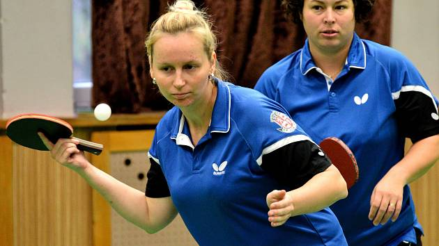 Jihlavské stolní tenistky se v posledních letech ve druhé lize trápí. Vondrová ale věří, že přijdou lepší časy.