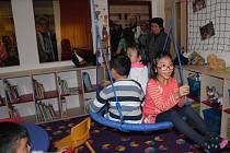 Herna. Součástí nových prostor Centra multikulturního vzdělávání je i herna pro děti.
