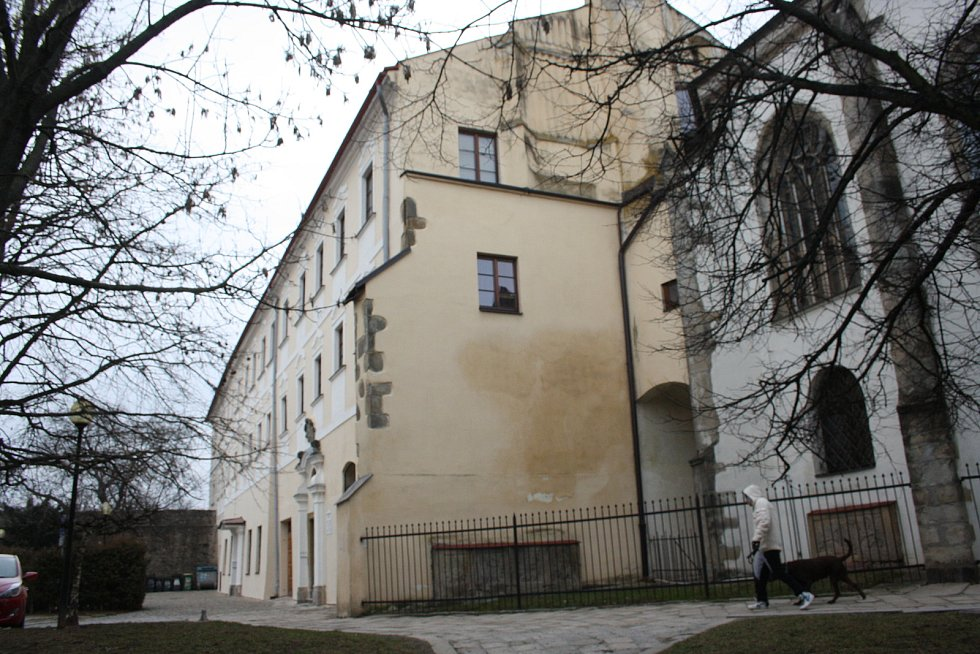 Klášter minoritů při kostele Matky Boží v Jihlavě.
