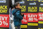 Black Friday v nákkupním centru City Park Jihlava.