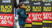 Black Friday v nákkupním centru City Park Jihlava.