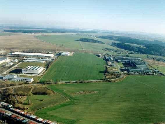 Průmyslová zóna Jihlava. Zdroj: www.jihlava.cz