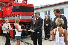 Firma CZ LOKO otevřela novou administrativní budovu.