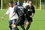 Lukáš Sedláček (vpravo) je Dobronínu věrný. A hrát chce dál, pokud mu to zdraví dovolí.