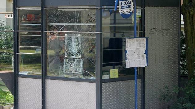 Zloděj se vloupal do trafiky ve Vrchlického ulici.