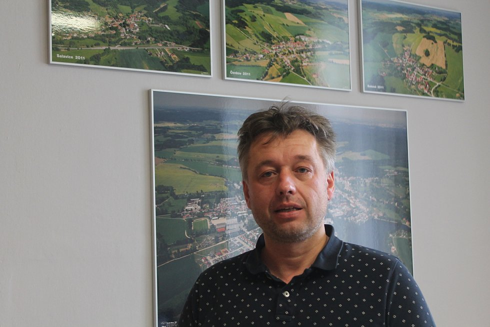 Starosta Třeště Vladislav Hynk (KDU-ČSL).