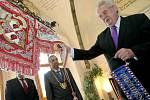V minulém roce navštívil Miloš Zeman jihlavský magistrát. V letošním roce zavítá do historické Telče, kde na něj bude čekat Zachariáš z Hradce s chotí Kateřinou.