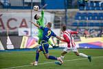 Utkání 26. kola FNL mezi FC Vysočina Jihlava a FK Viktoria Žižkov.