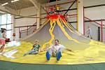 Centrum Robinson v Jihlavě zabaví hlavně děti.